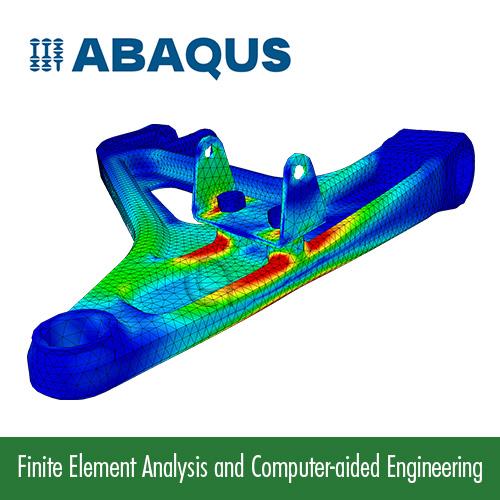 تحلیل مسائل مهندسی به روش اجزا محدود با ABAQUS