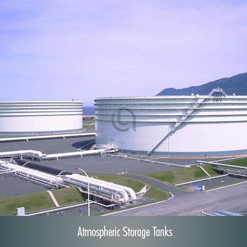 طراحي، تأمين تجهيزات، ساخت و نصب مخازن ذخيره اتمسفریک